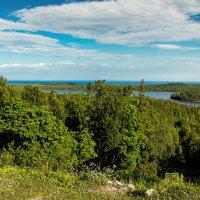 Вид с горы Галгофа. Соловецкие острова. Остров Анзер. :: Николай