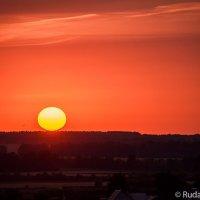 Катилось солнышко к закату :: Сергей