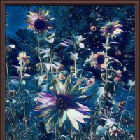 "картина "" Цветы при лунном свете"" :: Владимир Бровко"