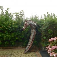Скульптура в парке концертного зала :: Natalia Harries