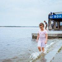 Девочка в речпорту :: Ольга Кучаева