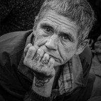Портрет бездомного :: Oksana