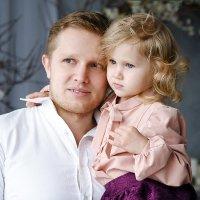 Отец и дочь... :: Тамара Шульганова