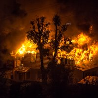 Случаются пожары и это страшно...(( :: Наталья Верхотурова