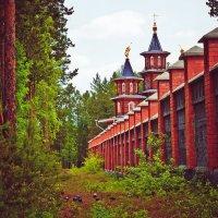 Благовещенский храм г. Саянск :: Inessa Shabalina
