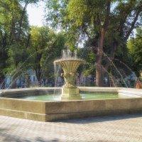 Утро Соборки,- Филатовский фонтан. :: Вахтанг Хантадзе
