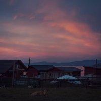 вечер близ Байкала :: Алиса Колмагорова