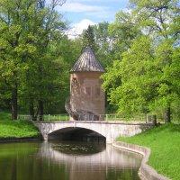 Башня у пруда :: Дмитрий Солоненко