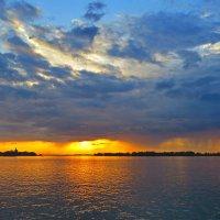 закат на Каме :: aleksandr Крылов