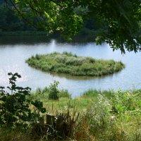 озеро и островок :: Богдан Вовк