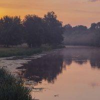 Предрассветный пейзаж :: Сергей Корнев