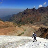 Горы воспитывают: выносливость, терпение, умение преодолевать трудности. :: Anna Gornostayeva
