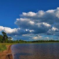 Лето над Мегленским озером... :: Sergey Gordoff