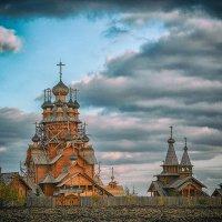 Деревянная церковь Всех Святых (Всехсвятский скит) :: Александр