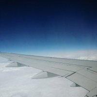 Под крылом самолета... :: Galina Belugina