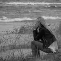 Море и думы.... :: Anna Leshtshenko