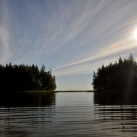 Северное озеро :: Наталья Жукова