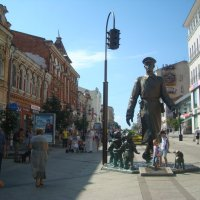 Памятник Дяде Степе :: марина ковшова