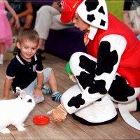 Именинник, маршал  и кролик-фокусник. :: Anatol Livtsov
