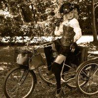 На велосипеде :: Андрей Бондаренко