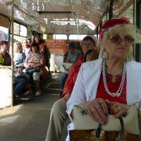 дама в автобусе :: Лана Lana