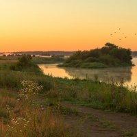 Рассветная дымка над Клязьмой :: Руслан Комаров