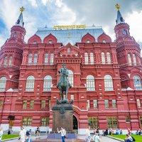 Москва, Центр, Исторический музей, памятник маршалу Жукову :: Игорь Герман