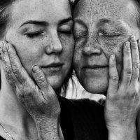 мама и дочь :: Елена Кузнецова