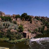 Вид на город Толедо и реку Тахо :: Irina-77 Владимировна