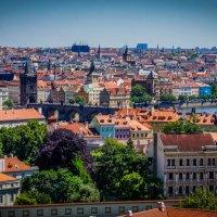Прага,вид на Карлов Мост! :: Rassol Risk