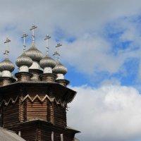 Купола Покровской церкви Кижского погоста :: Avada Kedavra!