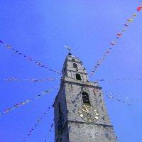 Веселая церковь св.Анны. С рыбиной вместо креста :: Марина Домосилецкая
