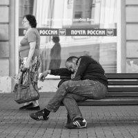 В ожидании письма, а может и посылочки :: Александр Степовой