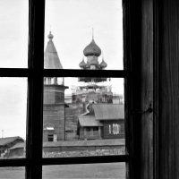 Кижский погост. Вид из окна дома крестьянина Ошевнева :: Avada Kedavra!