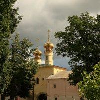 Церковь Вознесения Тихвинского Богородичного Успенского монастыря. :: Александр Алексеенко