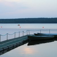 Вечер на озере :: Петр