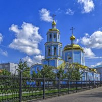 Церковь Тихвинской иконы Божией Матери :: Сергей Цветков
