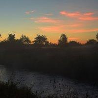 Вечер на реке Тосна :: Таня Бакулина