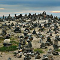 Териберка. Сопка каменных пирамид... :: Кай-8 (Ярослав) Забелин