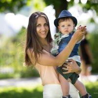 Красивая мама :: Елизавета Тимохина