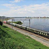 Транссибирская магистраль в Иркутске :: Leonid Rutov