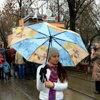 под зонтиком :: Олег Лукьянов
