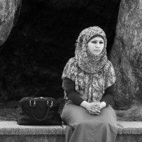Портрет турецкой девушки, монохром... :: Cергей Павлович