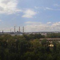 Панорама с трубами и городом :: Алексей Батькович