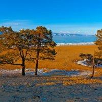 Пустынный пляж Хужира :: Анатолий Иргл