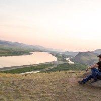 В окрестностях Улан - Уде перед восходом солнца :: Марина Кириллова