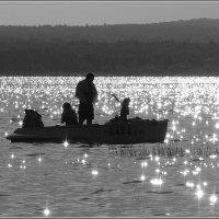 Плещеево озеро. В солнечных бликах. :: Николай Панов