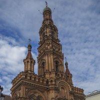 Казань, колокольня Богоявленского собора на улице Баумана :: Сергей Цветков