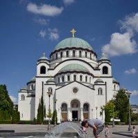У собора Святого Саввы :: Ольга