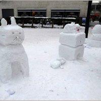 Забавные снеговики :: Вера